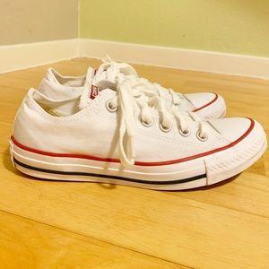 CONVERSE, White, Size 7